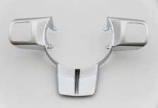 Hexavalent chrome finish component