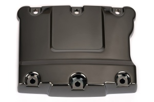 motorcycle engine cover component pvd gloss black