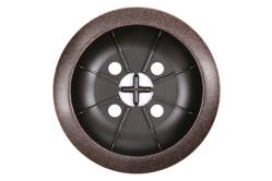 vibratory oil rubbed bronze drain cover