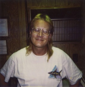 Tom Beckwith during his early days of employment with ECF.